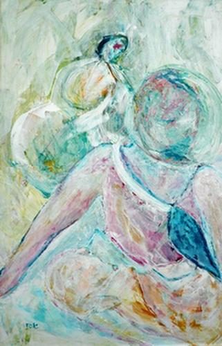 Kruiniger schilderij door Rose Verkerk