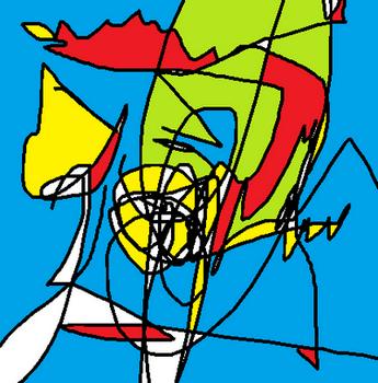 Zonder titel - digitale tekening Rose Verkerk